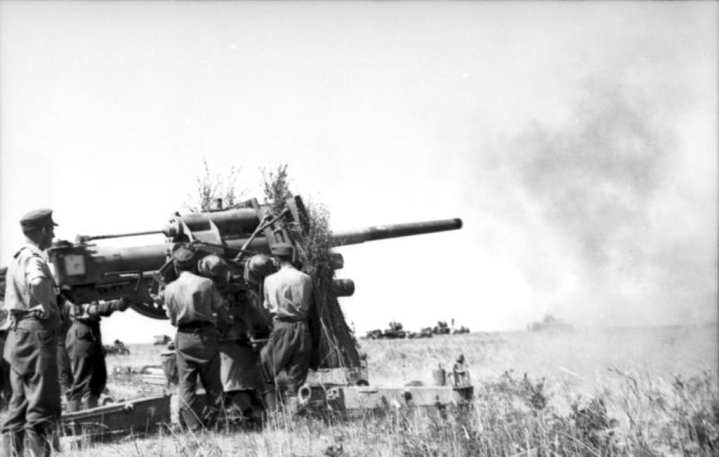 German 88mm Artillery