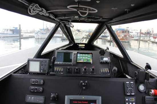 Zycraft cockpit when manned