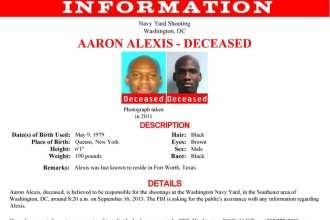 Aaron Alexis FBI