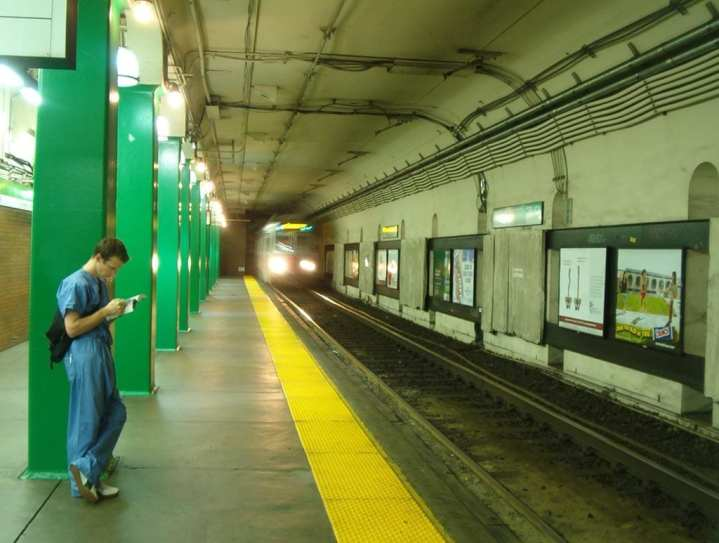 Boston subway bio-detection