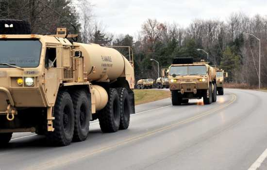 HEMTT Fuel Trucks