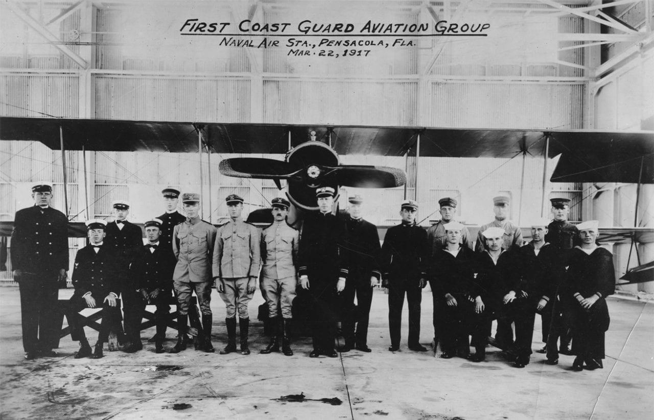First Coast Guard Aviation Class