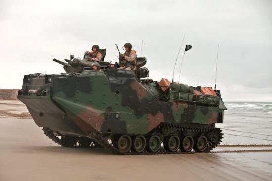 Assault Amphibious Vehicles