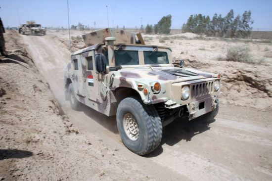 Iraqi Up-armored Humvees