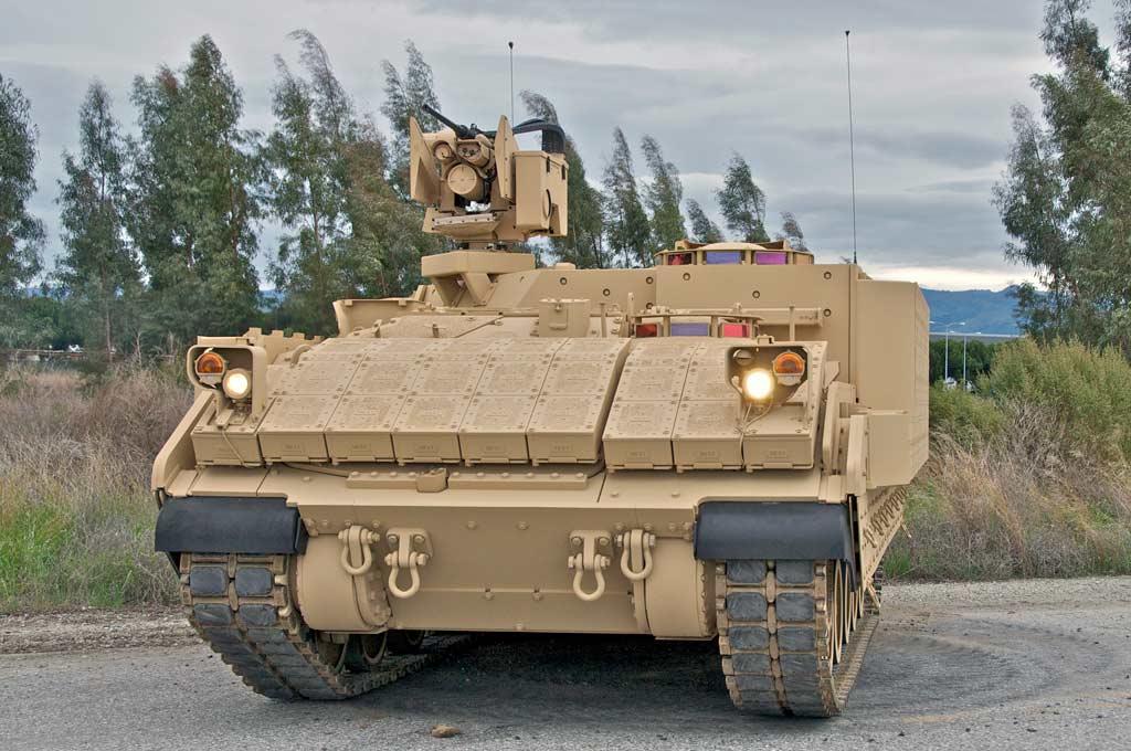 BAE Submits Bradley-based Armored Multi-Purpose Vehicle