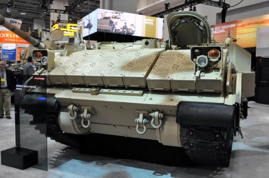 BAE Submits Bradley-based Armored Multi-Purpose Vehicle