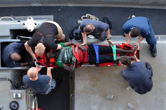 USS Bataan Rescue