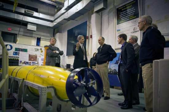 Underwater Autonomous Vehicle