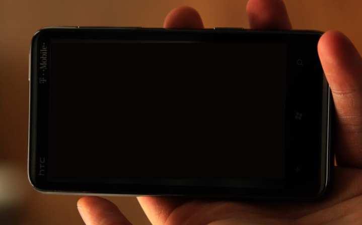 Smartphone dark