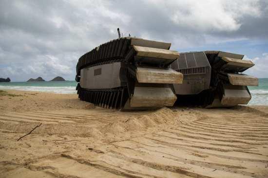 UHAC ashore
