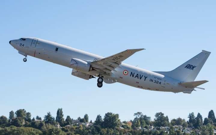 Fifth P-8I delivery