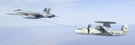Hawkeye aerial refueling system