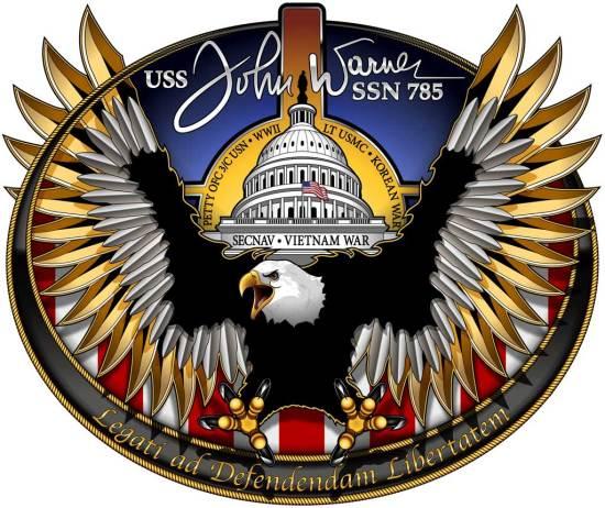 John Warner crest