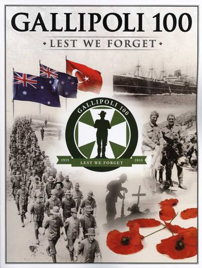 Gallipoli100: Lest We Forget