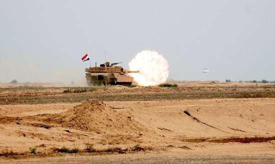 Iraqi M1A1 ammunition