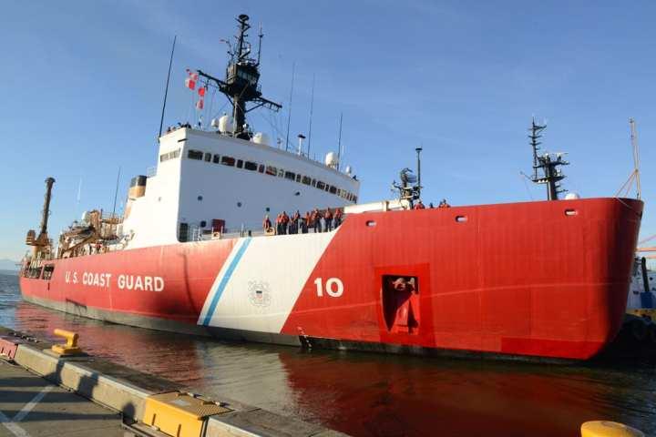 Polar Star departs Seattle