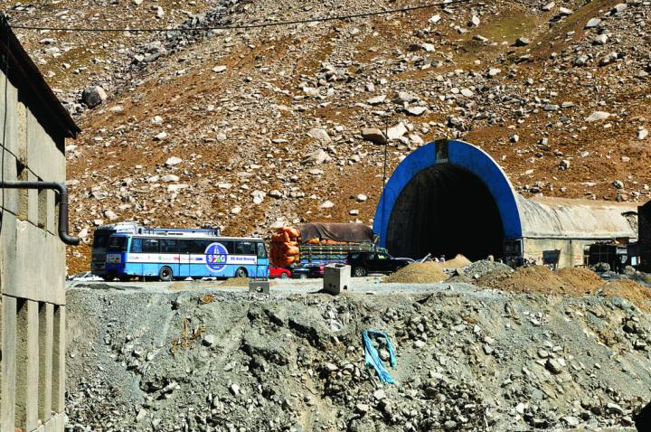 In the 1950s, as a gesture of goodwill to the Afghan people, the Soviet Union built the Salang Corridor, a series of 19 galleries and the 1.6-mile-long Salang Tunnel, that provided travelers protection from the elements. The tunnel transformed the economy by opening the trade route, cutting travel between Kabul and the northern regions from 72 hours to 10 and shaving 190 miles off the trip. USACE made improvements to the tunnel, including road surface, lighting, and power plant upgrades. U.S. Army Corps of Engineers photo by Alicia Embrey
