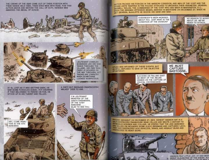The Battle of the Bulge spread