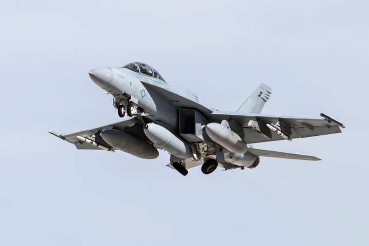 Super Hornet IRST pod