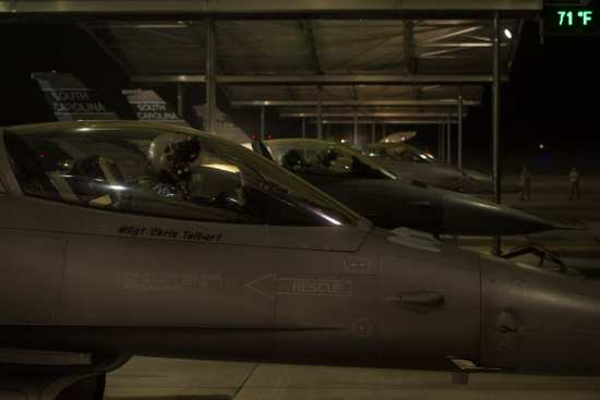 South Carolina ANG F-16s