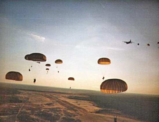 Rangers parachute into Grenada