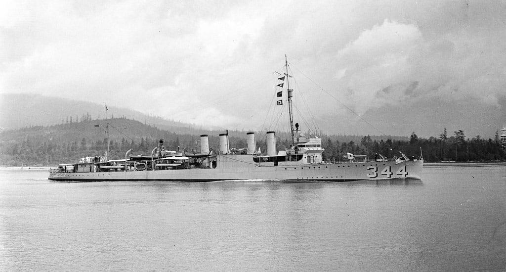 USS William B. Preston June 1933