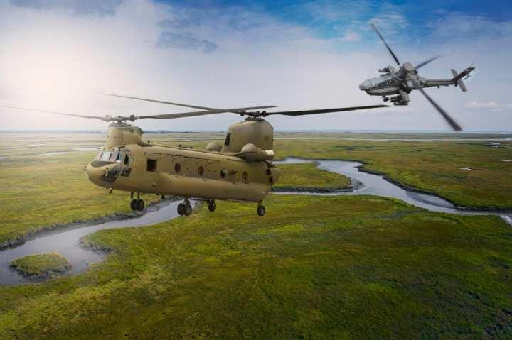 India Apaches, Chinooks