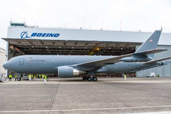 KC-46A on ramp