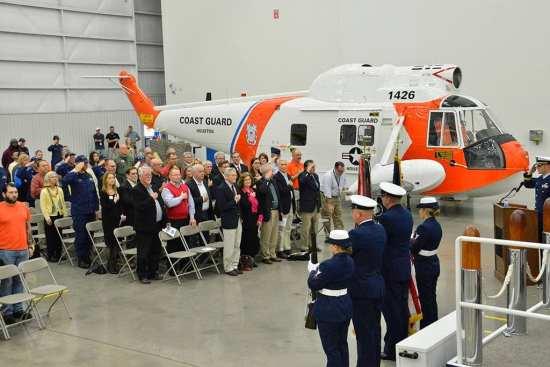 HH-52 ceremony