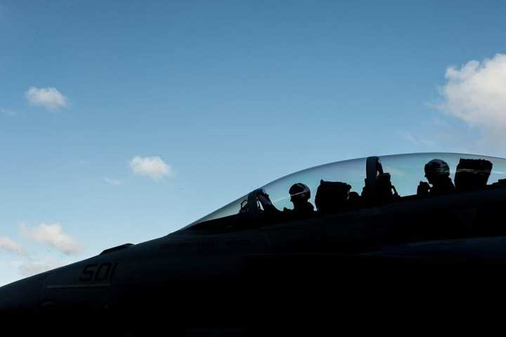 EA-18G growler pilots