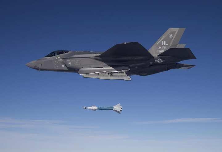 F-35 combat units first drop