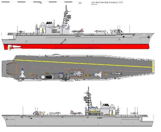 Sea Control Ship final design-1974