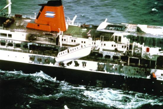 Dutch cruise ship Prinsendam