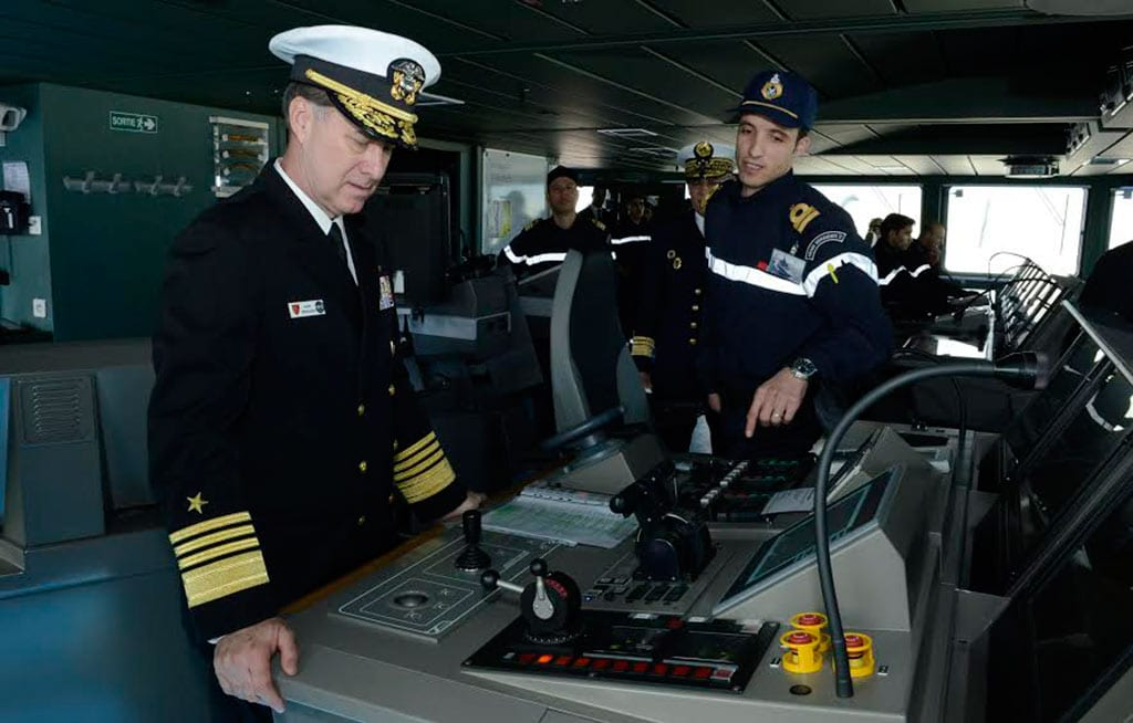Adm. Mark Ferguson frigate