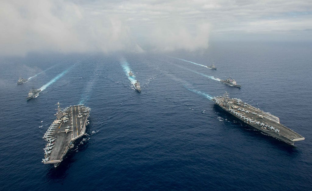 Reagan-Stennis Carrier Strike Groups