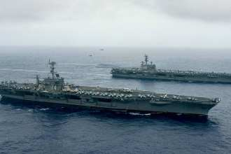Stennis-Reagan Carrier Strike Groups