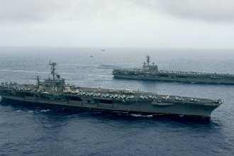 Stennis-Reagan Carrier Strike Groups