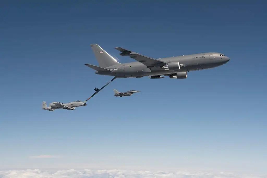 KC-46A final refueling