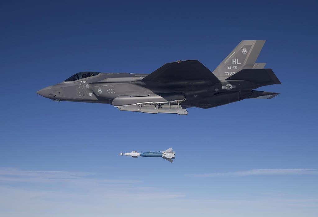 F-35A GBU-drop