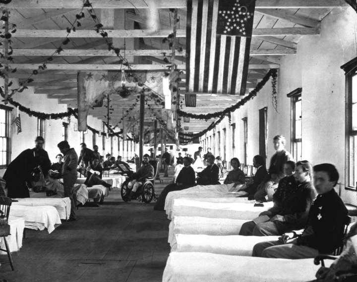 Military hospital, Civil War