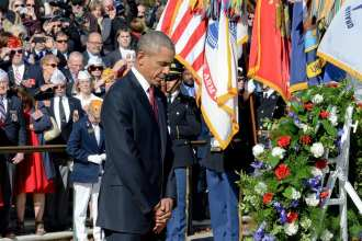obama veterans day