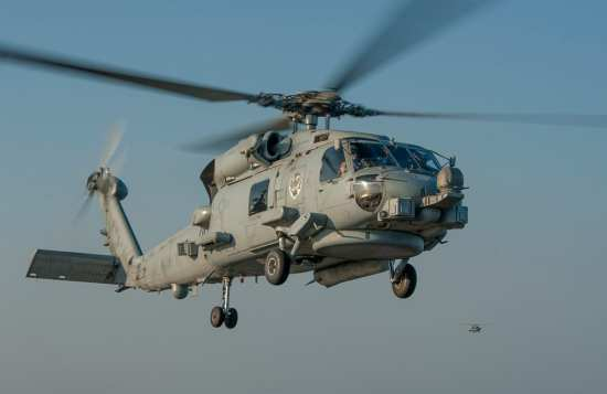 rotary-wing mh-60r
