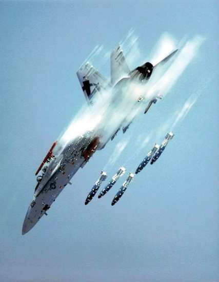 fa-18 weapons test