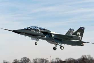 t-x-first-flight-video