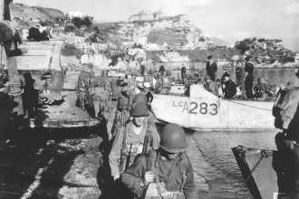Rangers WWII Naples, Italy
