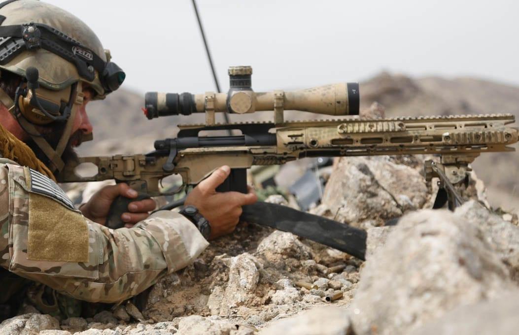 U.S. Special Forces Sniper