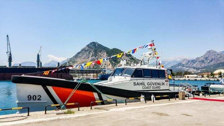 turkish coast guard vessels