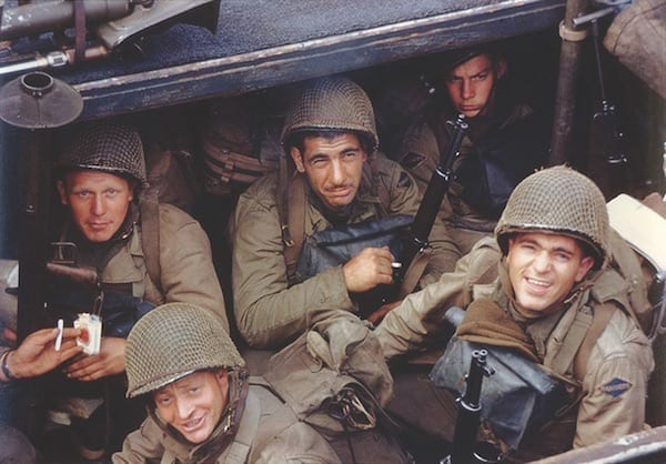 Army Rangers Prior Invasion of France