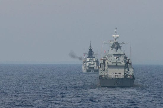 Royal Malaysian Navy exercise