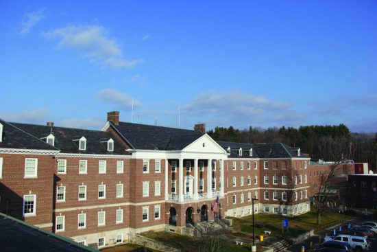 The White River Junction VA Medical Center houses the administrative arm of the National Center for PTSD as well its Rural Mental Health Initiative. VA photo